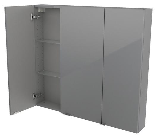 armoire murale gris imandra l 100 x h 90 x p 15 cm brico d p t. Black Bedroom Furniture Sets. Home Design Ideas