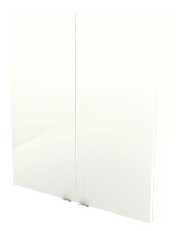 armoire murale blanc imandra l 80 x h 90 x p 15 cm brico d p t. Black Bedroom Furniture Sets. Home Design Ideas