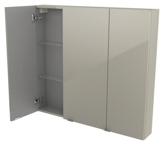 armoire murale taupe imandra l 100 x h 90 x p 15 cm. Black Bedroom Furniture Sets. Home Design Ideas