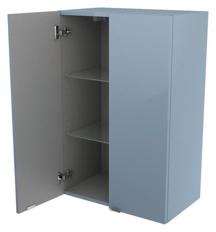 armoire murale bleu imandra l 60 x h 90 x p 36 cm brico d p t. Black Bedroom Furniture Sets. Home Design Ideas