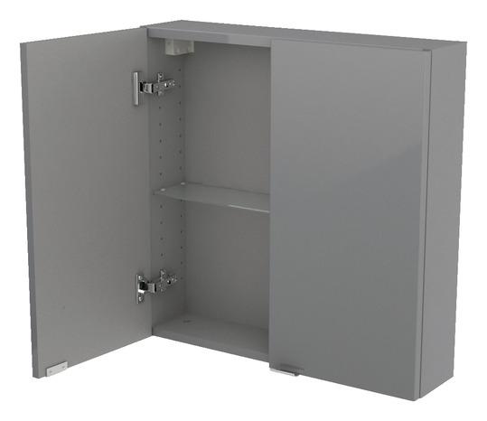 armoire murale gris imandra l 60 x h 60 x p 15 cm brico d p t. Black Bedroom Furniture Sets. Home Design Ideas