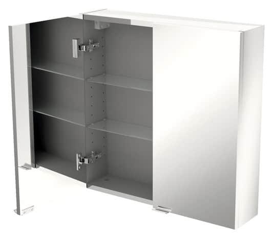 armoire murale miroir imandra l 60 x h 60 x p 15 cm brico d p t. Black Bedroom Furniture Sets. Home Design Ideas