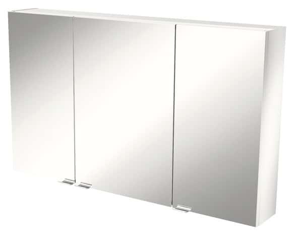 armoire murale miroir imandra l 100 x h 60 x p 15 cm brico d p t. Black Bedroom Furniture Sets. Home Design Ideas