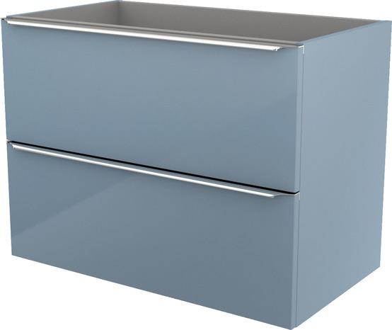 meuble suspendre bleu imandra l 80 x h 60 x p 45 cm brico dpt
