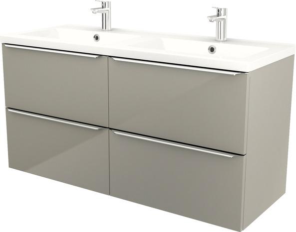 plan double vasque mila l 120 4 x h 12 4 x p 45 2 cm brico d p t. Black Bedroom Furniture Sets. Home Design Ideas