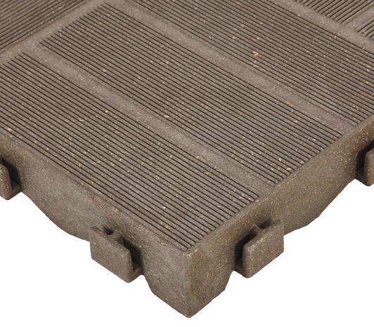 Dalle composite clipsable l 40 x l 20 x p 4 5 cm - Dalle de terrasse brico depot ...