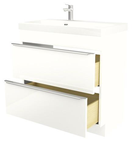 meuble sous vasque poser blanc imandra l 80 x h 82 x p 45 cm brico d p t. Black Bedroom Furniture Sets. Home Design Ideas