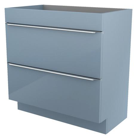 Meuble sous vasque poser bleu imandra l 80 x h 82 x p 45 cm brico d p t - Meuble sous vasque 80 cm ...