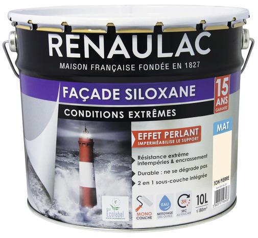 Peinture De Facade Siloxane Ton Pierre Mat Monocouche 10 L Brico Depot