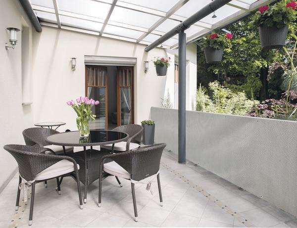brise vue pvc coloris gris l 5 m x h 1 m brico d p t. Black Bedroom Furniture Sets. Home Design Ideas