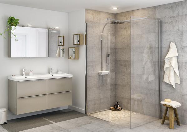 armoire murale miroir quotimandraquot l 60 x h 60 x p 15 cm With porte d entrée alu avec meuble salle de bain 120 cm brico depot