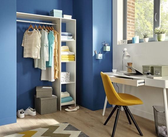 dressing blanc pole brico d p t. Black Bedroom Furniture Sets. Home Design Ideas