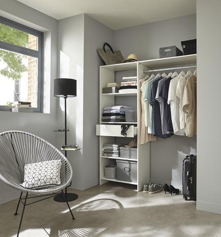 dressing blanc satelit brico d p t. Black Bedroom Furniture Sets. Home Design Ideas