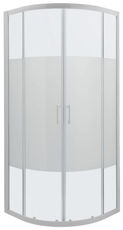 acc s d 39 angle circulaire onega h 190 x l 80 cm verre aspect d poli larg ext de 77 5 80. Black Bedroom Furniture Sets. Home Design Ideas