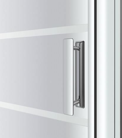 Porte pivotante beloya h 195 x l 92 5 cm verre effet for Porte 63 cm brico depot