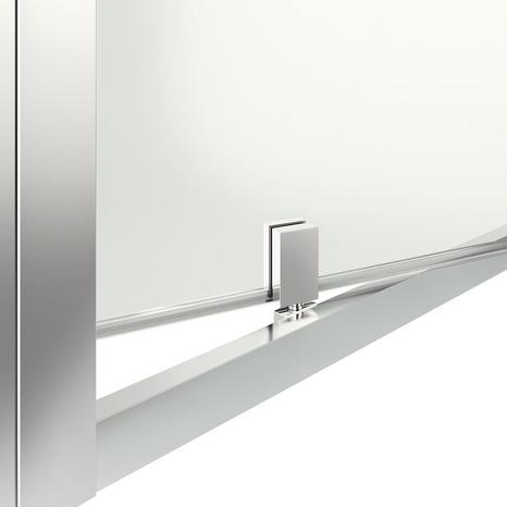 Porte pivotante beloya h 195 x l 72 5 cm verre for Paroi douche brico depot