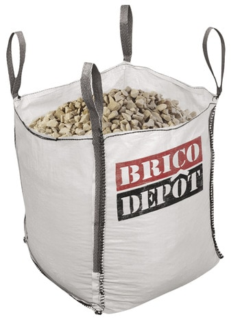 Big Bag De Gravier Quartz Decoratif 400 Kg Brico Depot