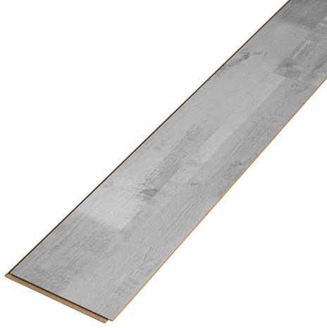 rev tement de sol stratifi clipser p 7 mm d cor imitation pin gris 2 frises brico d p t. Black Bedroom Furniture Sets. Home Design Ideas