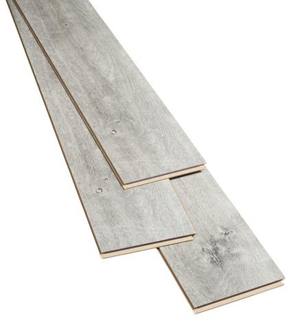 rev tement de sol stratifi clipser p 8 mm d cor imitation bois rustique vieilli gris