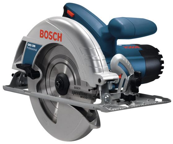 Bosch bleu scie circulaire 1400w gks 190 brico d p t - Scie circulaire brico depot ...
