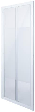 Porte de douche pliante r versible 2 volets en verre 190 x Porte pliante 90 cm transparente