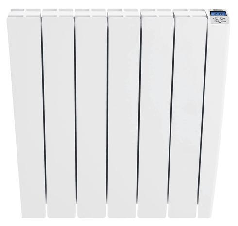 radiateur lectrique inertie fluide 1 000 w h 58 x l 56 cm brico d p t. Black Bedroom Furniture Sets. Home Design Ideas