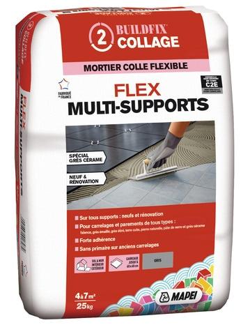 Mortier Colle Flex Multisupport C2e 25 Kg Brico Depot
