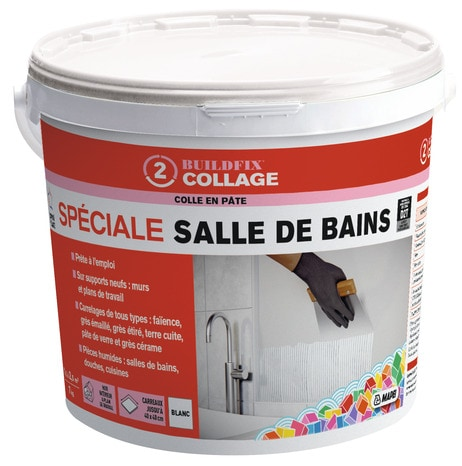 Colle En Pate D2t Speciale Salle De Bains 7kg Brico Depot