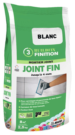 Mortier pour joint fin brico d p t for Colle a carrelage mapei