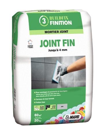 Mortier Pour Joint Fin Gris 20 Kg Brico Depot