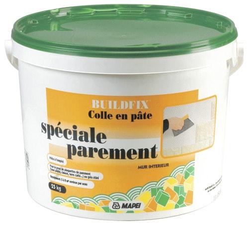 Colle en p te 25 kg brico d p t for Colle carrelage mapei