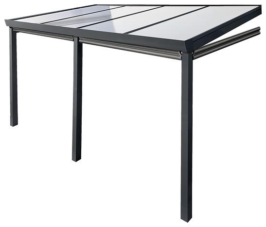 Beau Pergola Aluminium 4 X 3 M Brico Dépôt