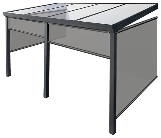 pergola aluminium 4 x 3 m brico d p t. Black Bedroom Furniture Sets. Home Design Ideas