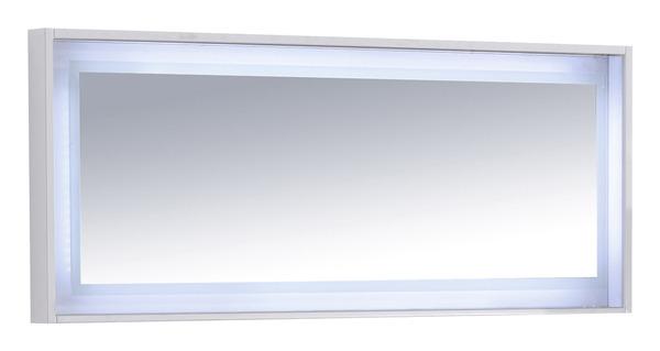 New York blanc brillant l. 120 cm H. 50 cm P. 7 mm - Brico Dépôt