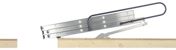 Escalier Escamotable Antiderapant Avec 3 Sections Repliables Modele 37093 Brico Depot