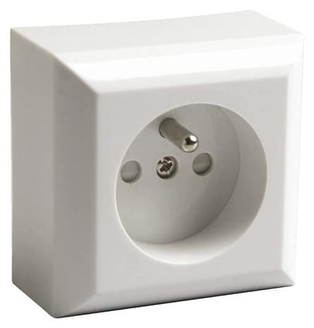 prise 2p t brico d p t. Black Bedroom Furniture Sets. Home Design Ideas