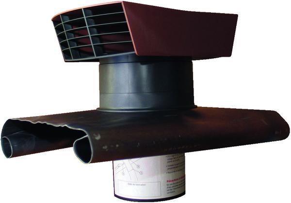 Chapeau de toiture brico d p t for Sortie de toit hotte de cuisine