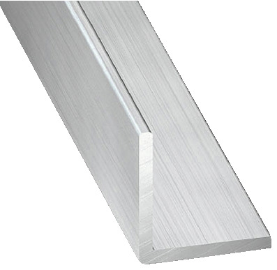 Cornière En Aluminium Brut L 250 M L 60 Mm H 60 Mm Ep 2 Mm