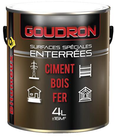 Goudron Bitumeux Pour Les Surfaces Enterrees 5 L Brico Depot