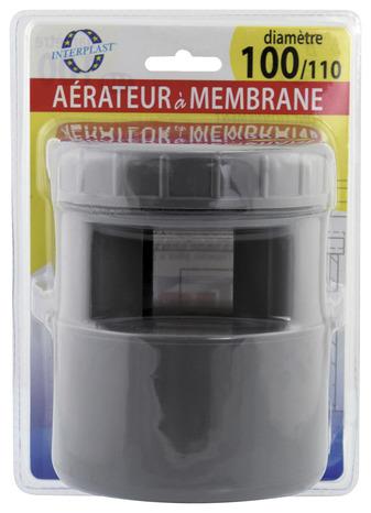 a rateur membrane en pvc 100 110 mm brico d p t. Black Bedroom Furniture Sets. Home Design Ideas