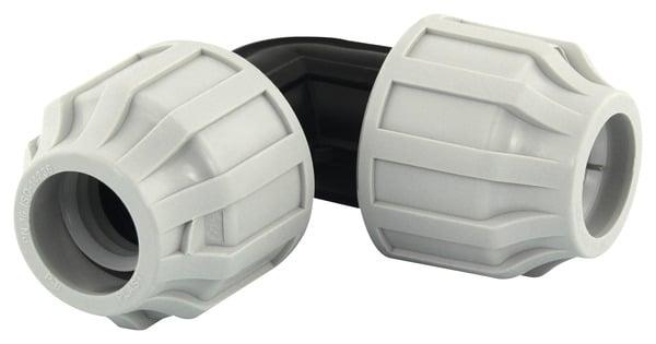 Coude 90 A Compression En Polyethylene Haute Et Basse Densite O 25 Mm Brico Depot