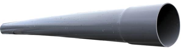 tube pvc compact pour l 39 vacuation des eaux us es 40 mm l 2 m brico d p t. Black Bedroom Furniture Sets. Home Design Ideas