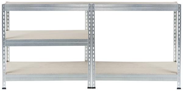 tag re bois m tal 5 tablettes charge maxi 150 kg par tablette brico d p t. Black Bedroom Furniture Sets. Home Design Ideas