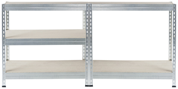 tag re bois m tal 5 tablettes charge maxi 150 kg par. Black Bedroom Furniture Sets. Home Design Ideas