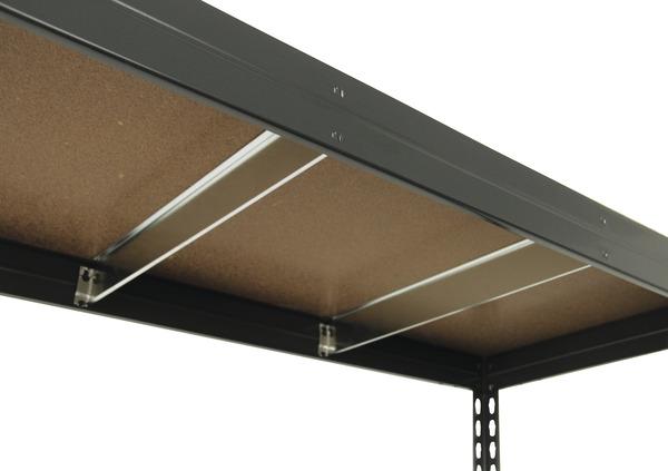 tag re bois m tal 5 tablettes charge maxi 325 kg par tablette brico d p t. Black Bedroom Furniture Sets. Home Design Ideas