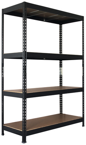 tag re bois m tal 5 tablettes charge maxi 325 kg par. Black Bedroom Furniture Sets. Home Design Ideas