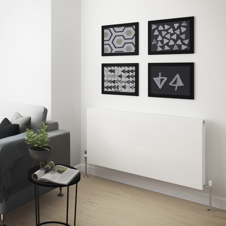 radiateur acier piatto 2 087 w 2 087 w h 60 x l 120 cm brico d p t. Black Bedroom Furniture Sets. Home Design Ideas