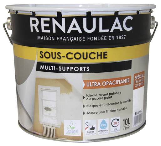 Souscouche Fixante Multisupports Pour Tous Les Murs Et Plafonds - Sous couche de peinture