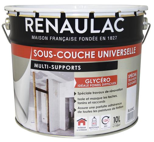 SousCouche Universelle Opacifiante Pour Supports De Murs Plafonds