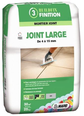 mortier joint large pour sols et murs int rieurs et ext rieurs brico d p t. Black Bedroom Furniture Sets. Home Design Ideas